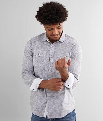 BKE Marled Standard Stretch Shirt