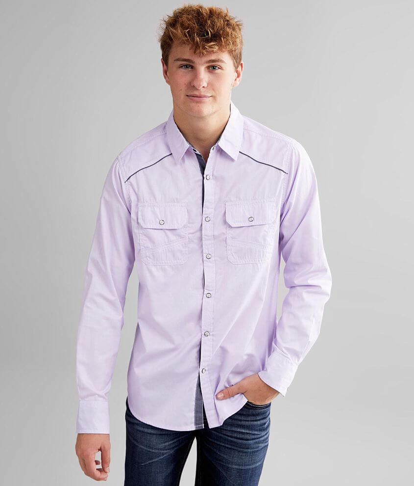 BKE Solid Standard Shirt front view