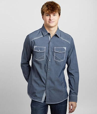BKE Solid Standard Stretch Shirt