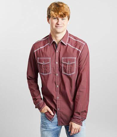 BKE Solid Athletic Stretch Shirt