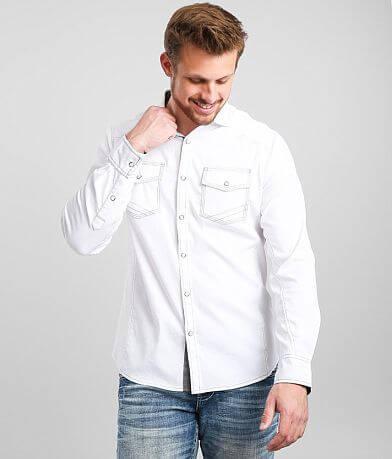 BKE Tonal Jacquard Standard Stretch Shirt