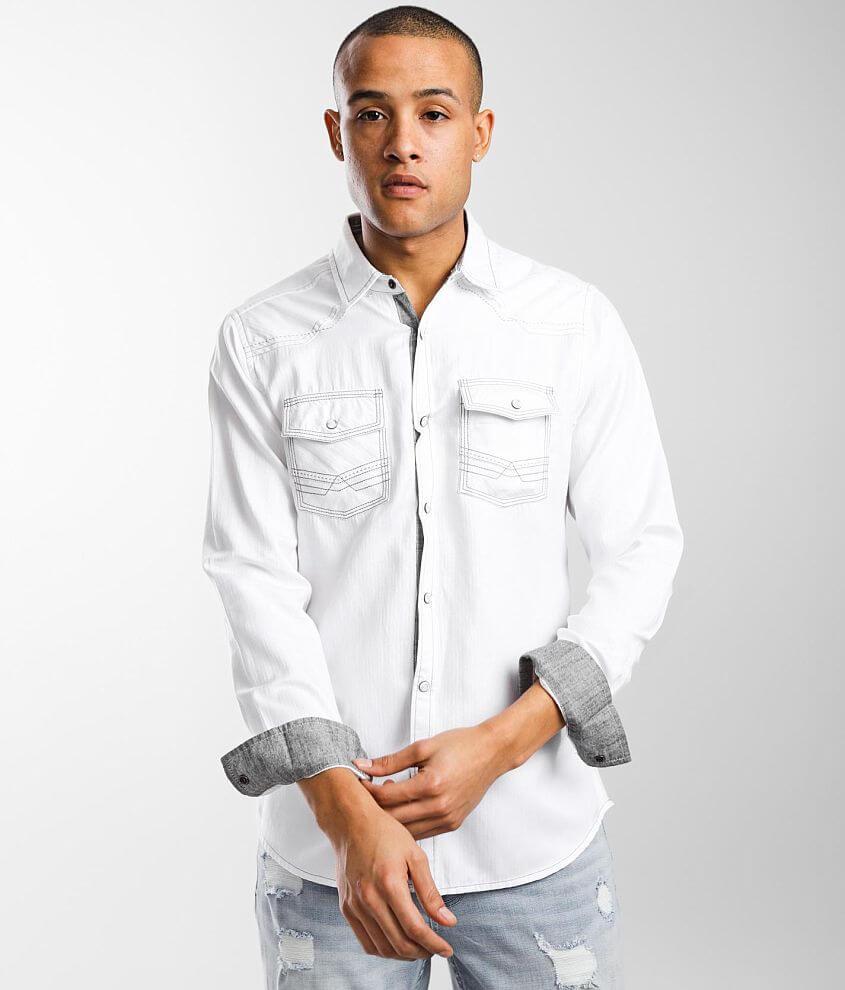 BKE Jacquard Standard Shirt front view