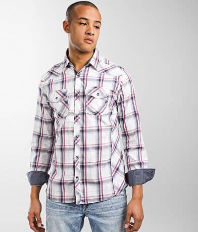 BKE Plaid Standard Stretch Shirt
