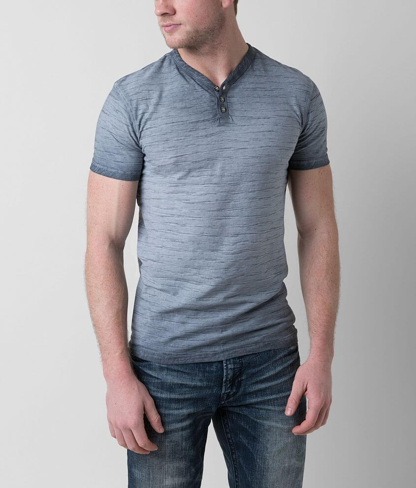 BKE Reverse Henley front view