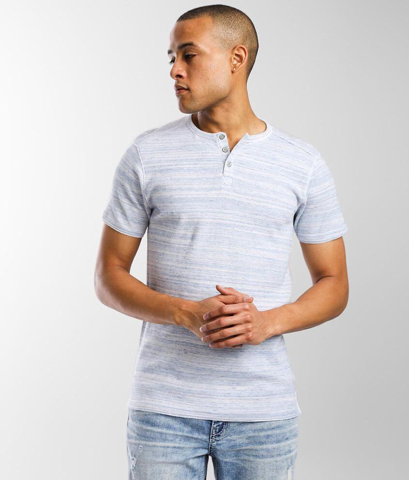 BKE Thermal Henley front view