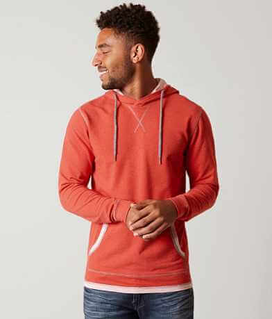 BKE Heathered Stretch Hoodie Sweatshirt
