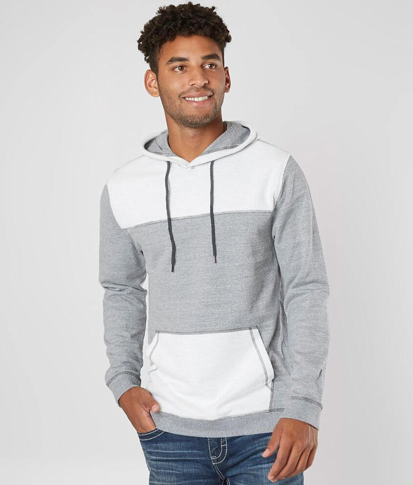 BKE Reverse Fleece Hooded Sweatshirt front view