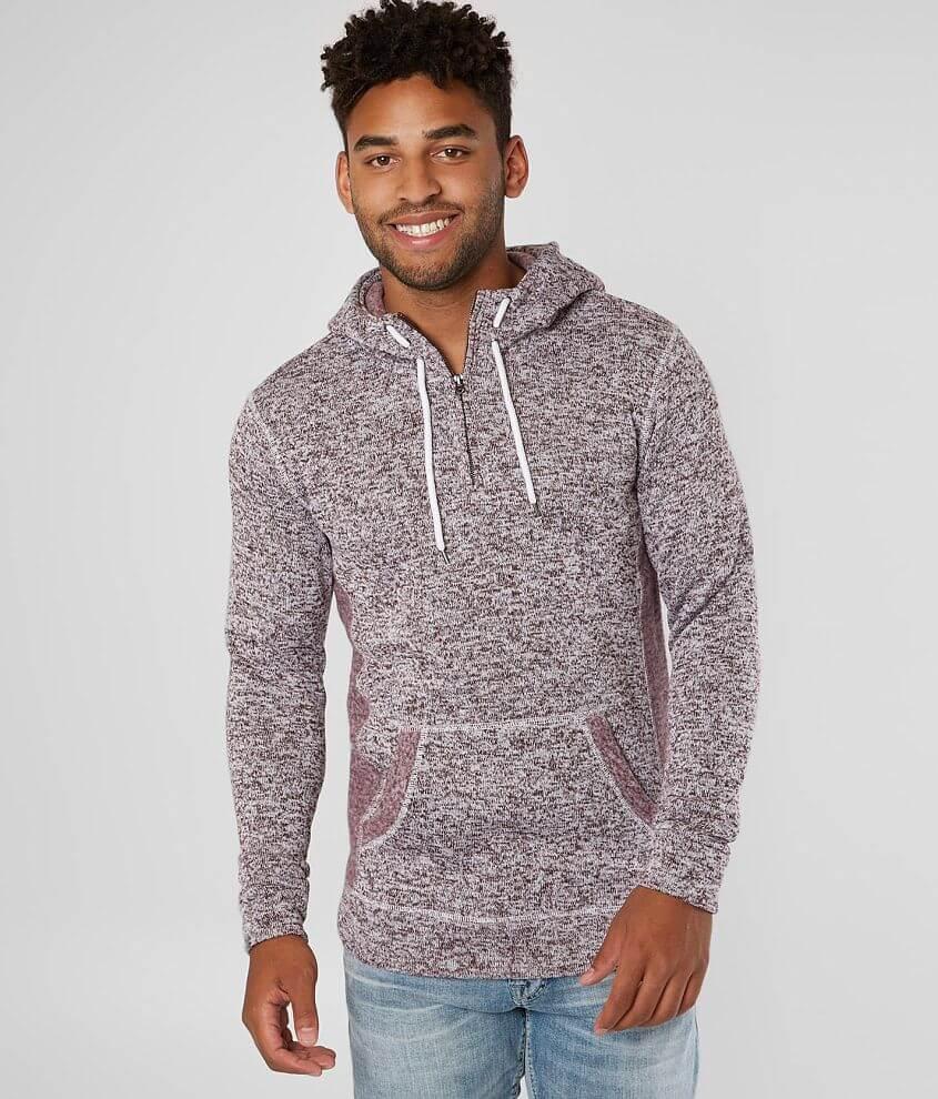 e09dc6f942399 BKE Cozy Hooded Sweatshirt - Men's Sweatshirts in Tawny Port | Buckle