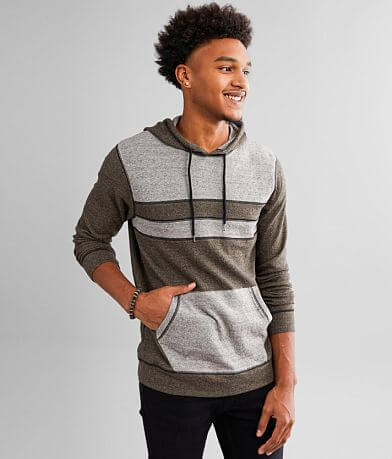 BKE Color Block Lightweight Hoodie