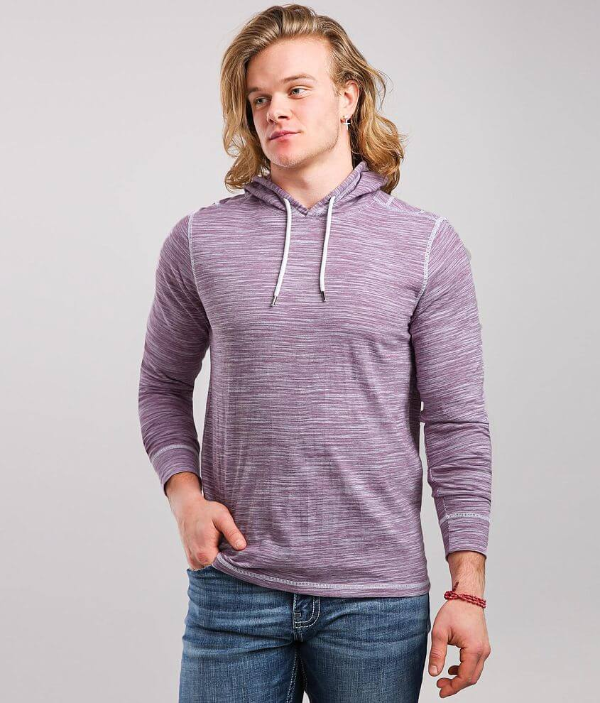 BKE Striped Hoodie front view