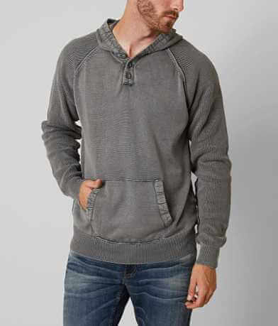 BKE Riley Hooded Henley Sweater