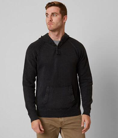 BKE Riley Hooded Henley Sweater