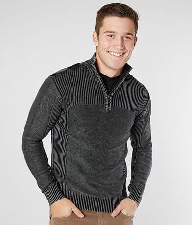 BKE Dyersburg Quarter Zip Sweater
