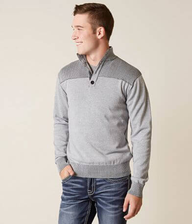 BKE Mountain Henley Sweater