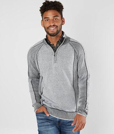 BKE Memphis Quarter Zip Sweater