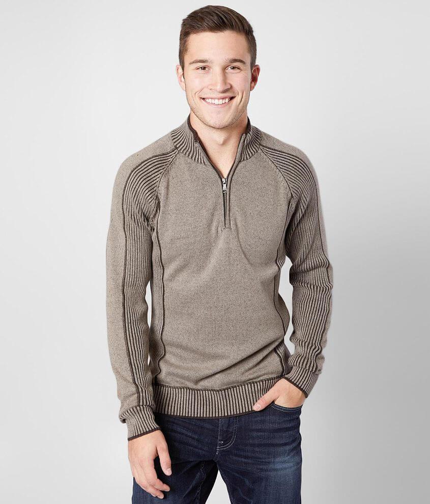 BKE Memphis Mock Neck Sweater front view