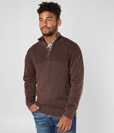 BKE Baxter Quarter Zip Sweater