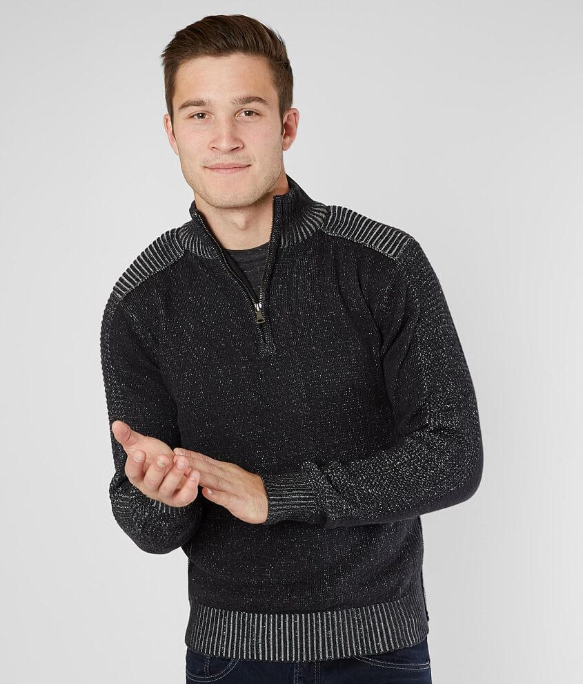 BKE Mission Quarter Zip Sweater front view