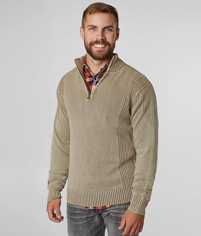 BKE Miller Quarter Zip Sweater