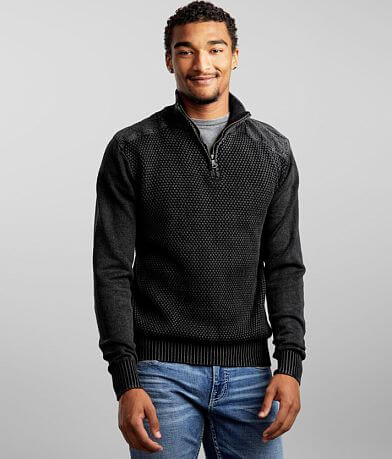 BKE Temple Quarter Zip Sweater