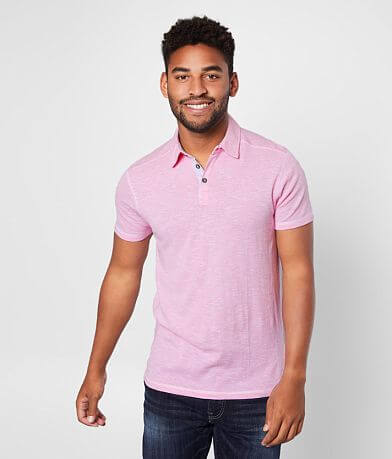 BKE Mixed Knit Polo