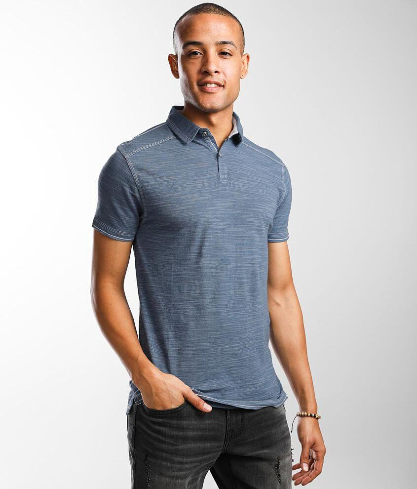 BKE Mixed Yarn Polo front view