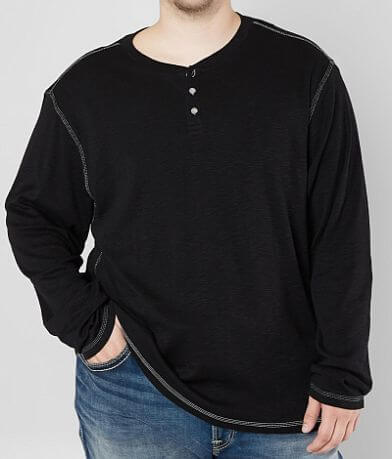 BKE Hallsy Henley - Big & Tall