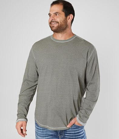 BKE Pieced Crew Neck T-Shirt - Big & Tall