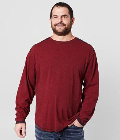 BKE Pieced Crew Neck T-Shirt - Big & Tall