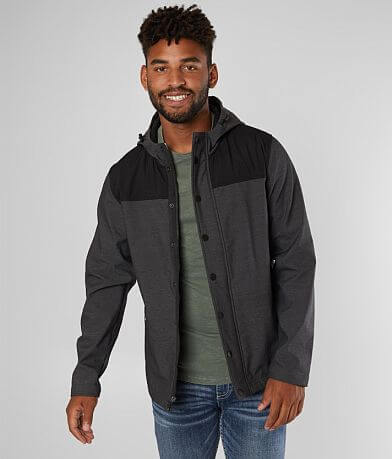 BKE Ripstop Softshell Hooded Jacket