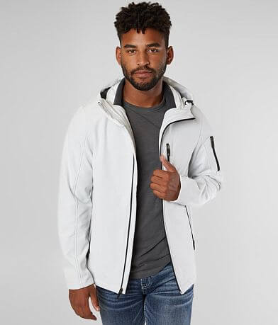 BKE Solid Softshell Hooded Jacket