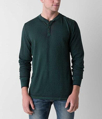 Buckle Black Anthony Thermal Henley