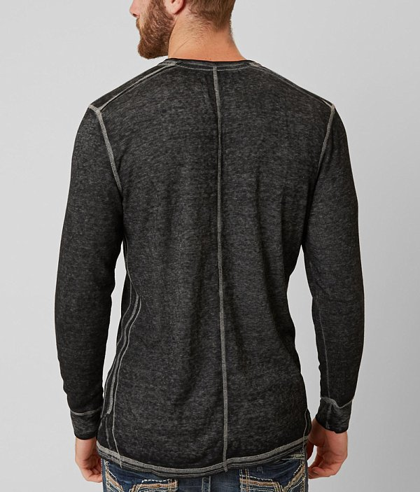 Antonio Black Buckle Buckle Black Henley Thermal xpqZaYvn