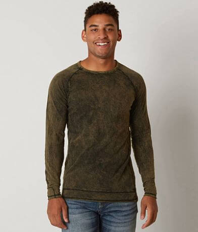 Buckle Black Acid Wash T-Shirt