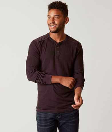Buckle Black Toned Henley