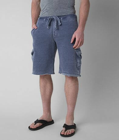 Buckle Black Burnout Cargo Short