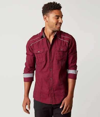 Buckle Black Walk Stretch Shirt