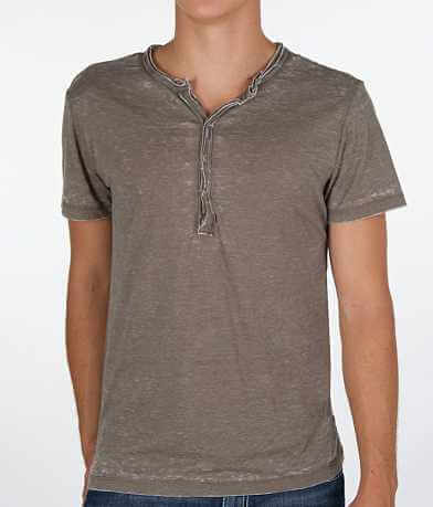 Buckle Black Burnout Henley