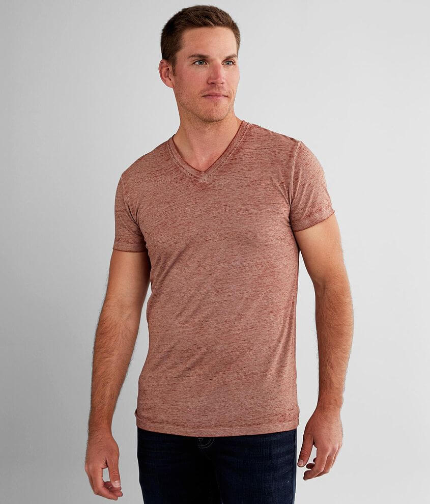 Buckle Black Burnout T-Shirt front view