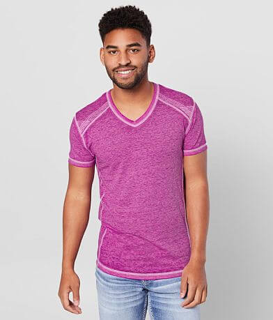 Buckle Black Crossed Lines T-Shirt