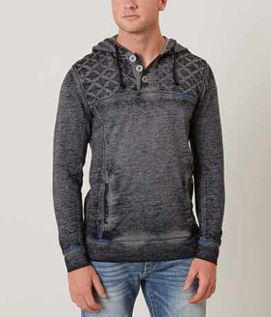 Buckle Black Two Times Henley Sweatshirt
