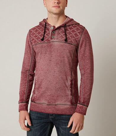 Buckle Black Two Times Henley Sweatshirt