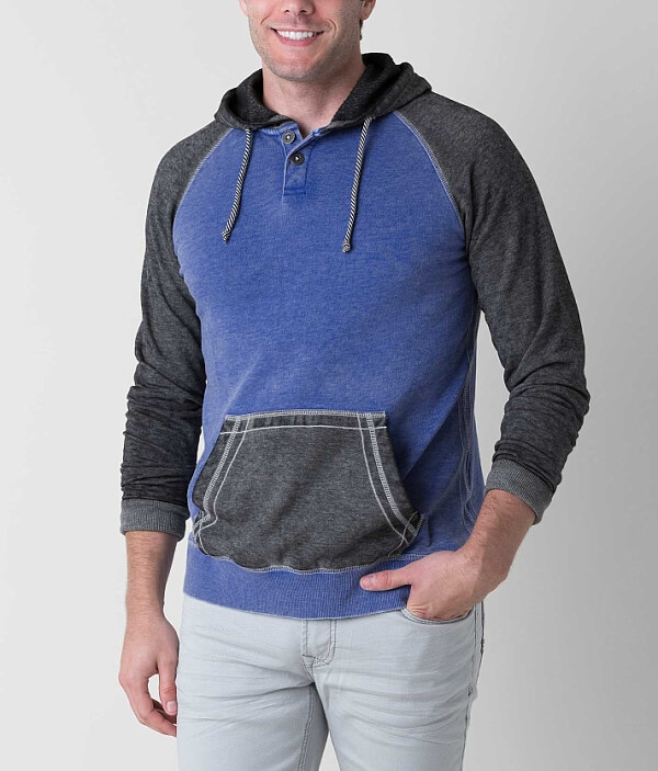 Sweatshirt Mist The Henley Buckle Black 7qgpaa