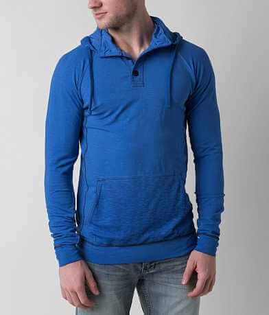 Buckle Black Long Road Henley Sweatshirt
