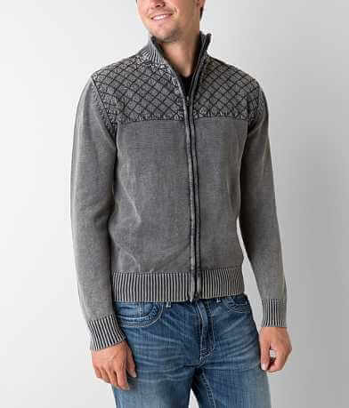 Buckle Black Amazed Cardigan Sweater