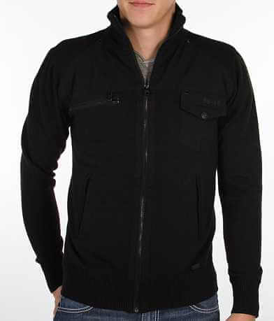 Buckle Black Let You Cardigan Sweater