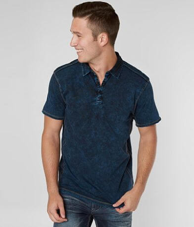 Buckle Black Washed Polo