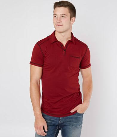 093243e5fa8 Champion® Rugby Polo - Men's Polos in Scarlet Oxford Grey Nvy | Buckle