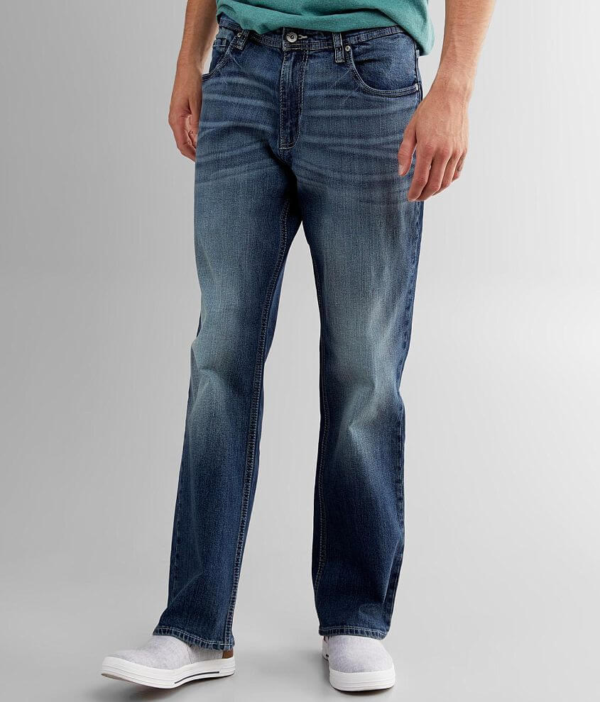 Reclaim Relaxed Boot Stretch Jean front view