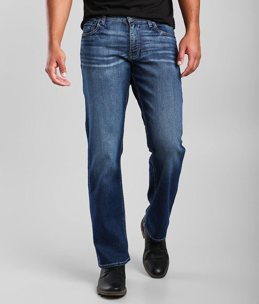 Reclaim Relaxed Straight Stretch Jean front view